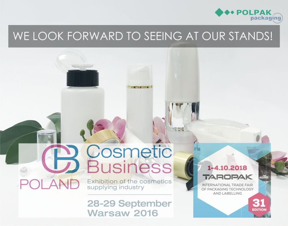 packaging show, fairs cosmetic business poland, cosmetic bottles, airless